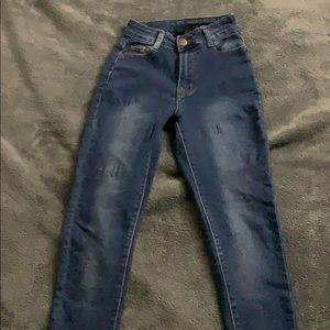 Mid rise fashion nova jeansjean